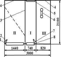 Схема станкового обладнання ОСМ-60