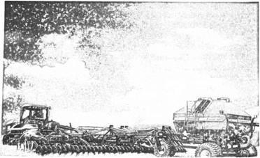 Зернова пневматична сівалка культиваторного типу Maxim II